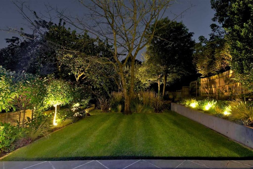 garden lighting dorset